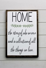 Home- The Story of Who We Are