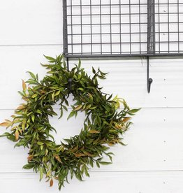 Smilax Wreath & Candle Ring (2 sizes available)