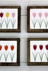 Spring Tulips (mini sign)