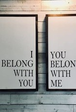 I Belong with You, You Belong with Me (set)