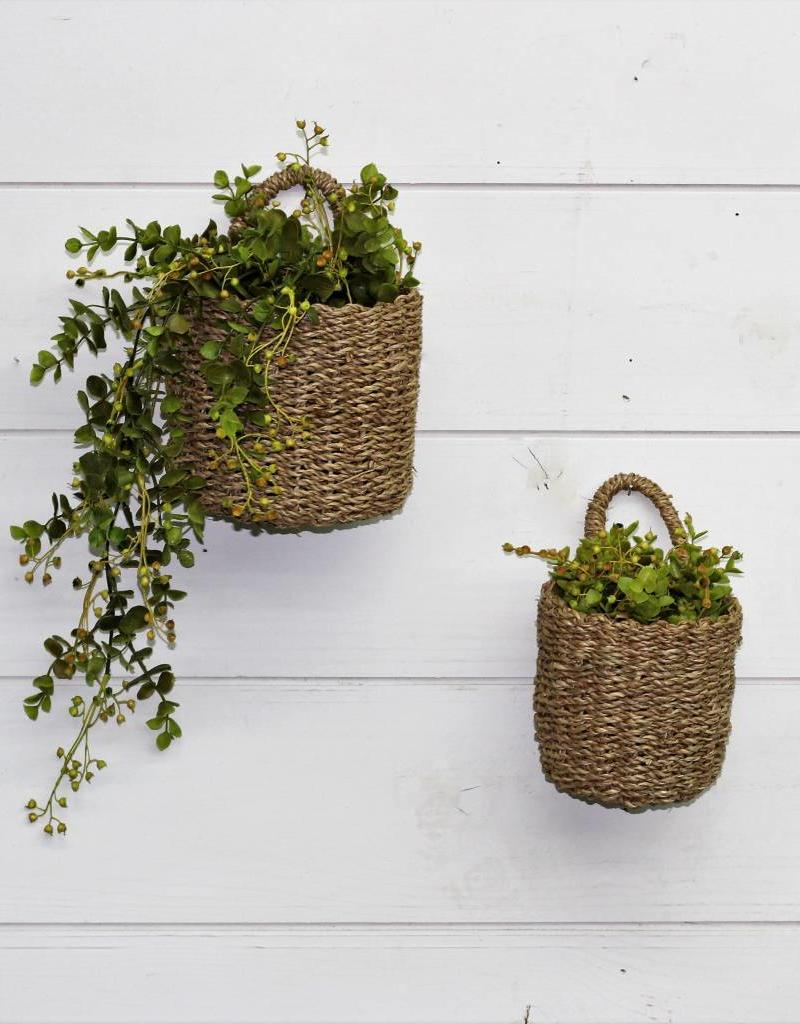 Hanging Seagrass Baskets