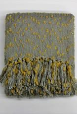 Petite Pompom Throw- 2 colors