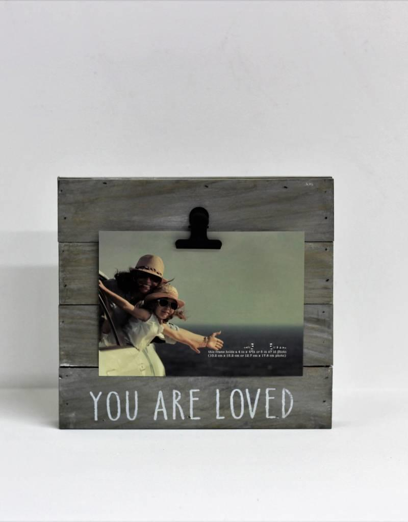 """ You Are Loved"" Pallet Clip Photo Frame"