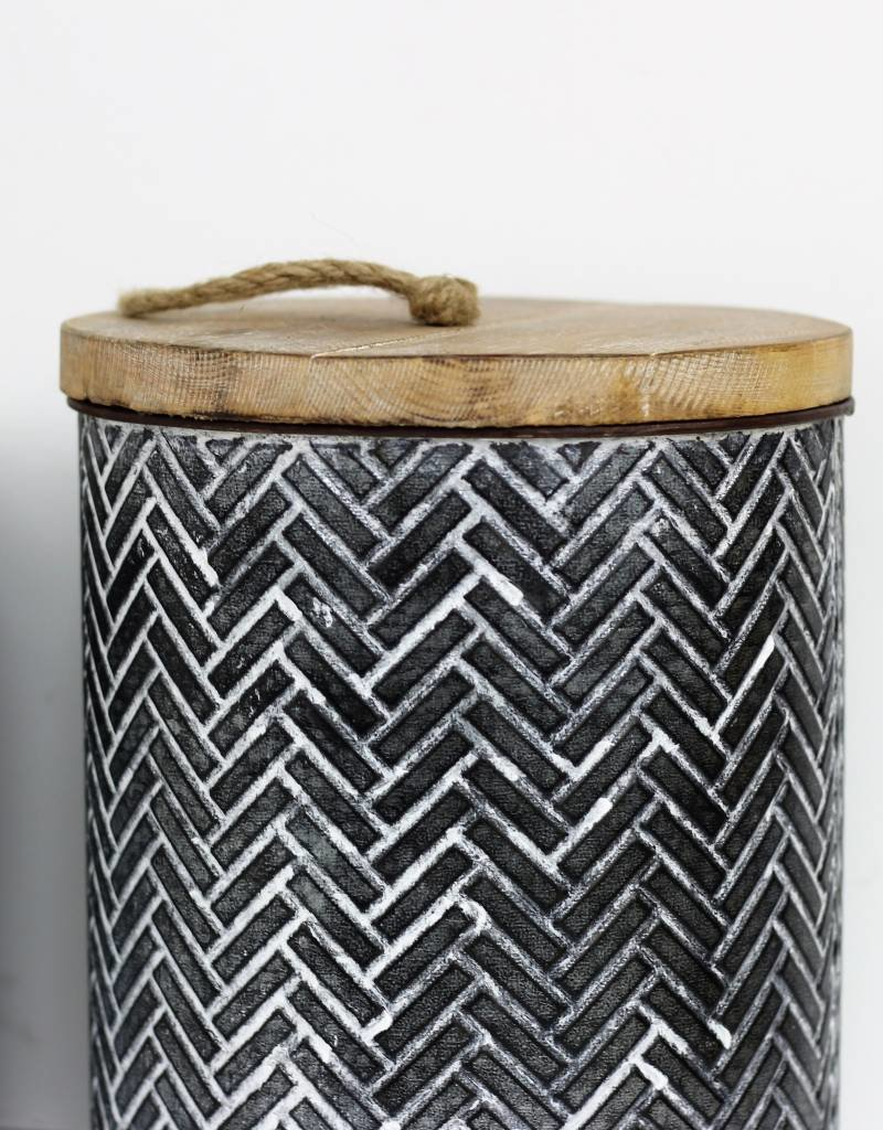 Tin Canisters, Set of 3
