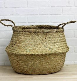 Large Bulge Seagrass Basket