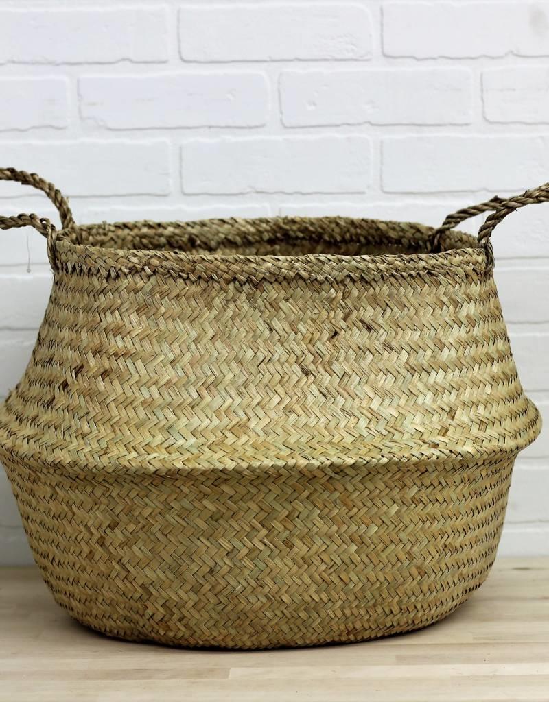 Large Bulge Seagrass Basket