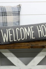 Welcome Home Canvas Pillow
