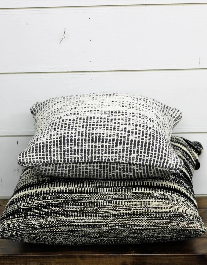 Black & CreamDouble Sided Pillow