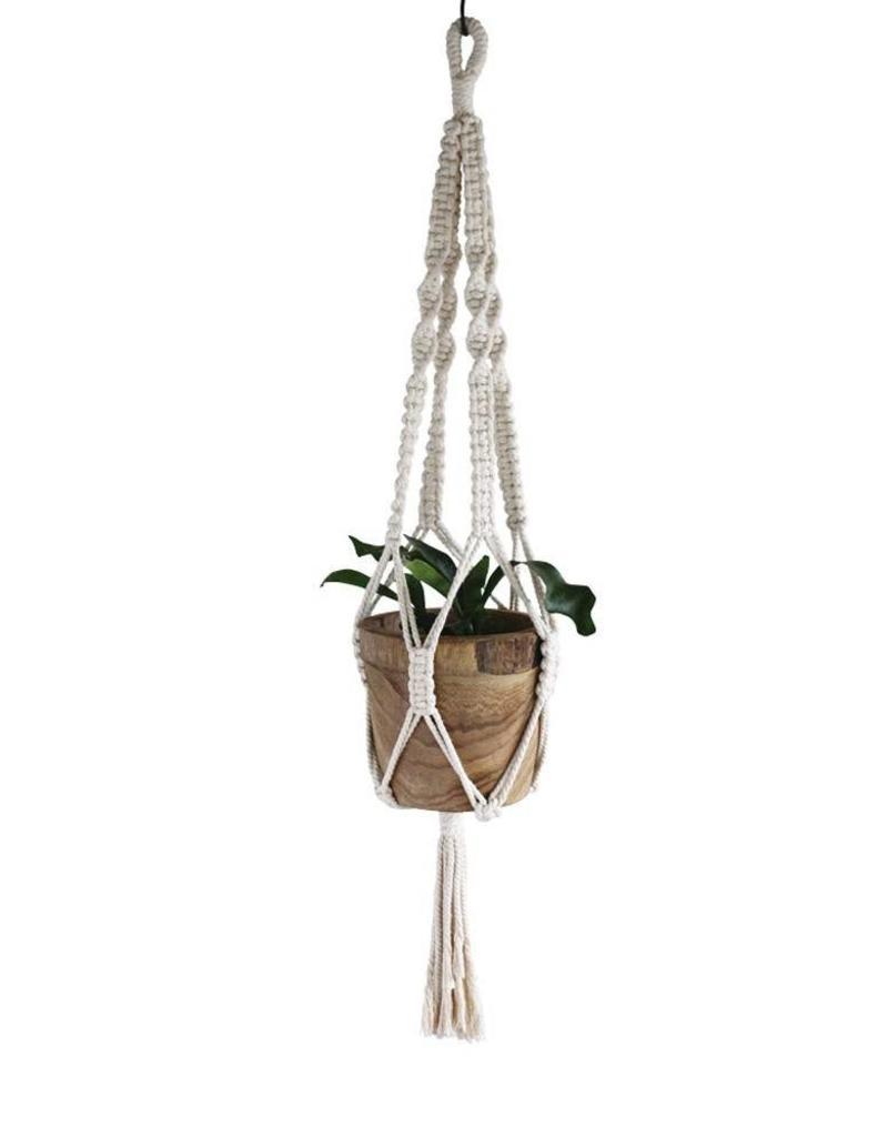 Macrame Plant Hanger No. 3