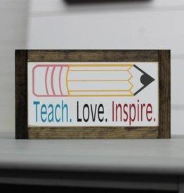 Teach. Love. Inspire.