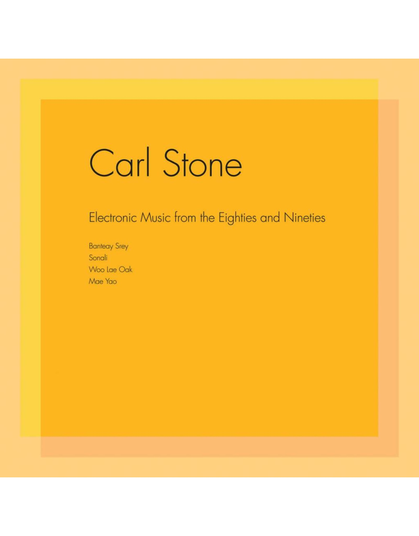 Unseen Worlds Stone, Carl: Electronic Music From The Eighties and Nineties LP