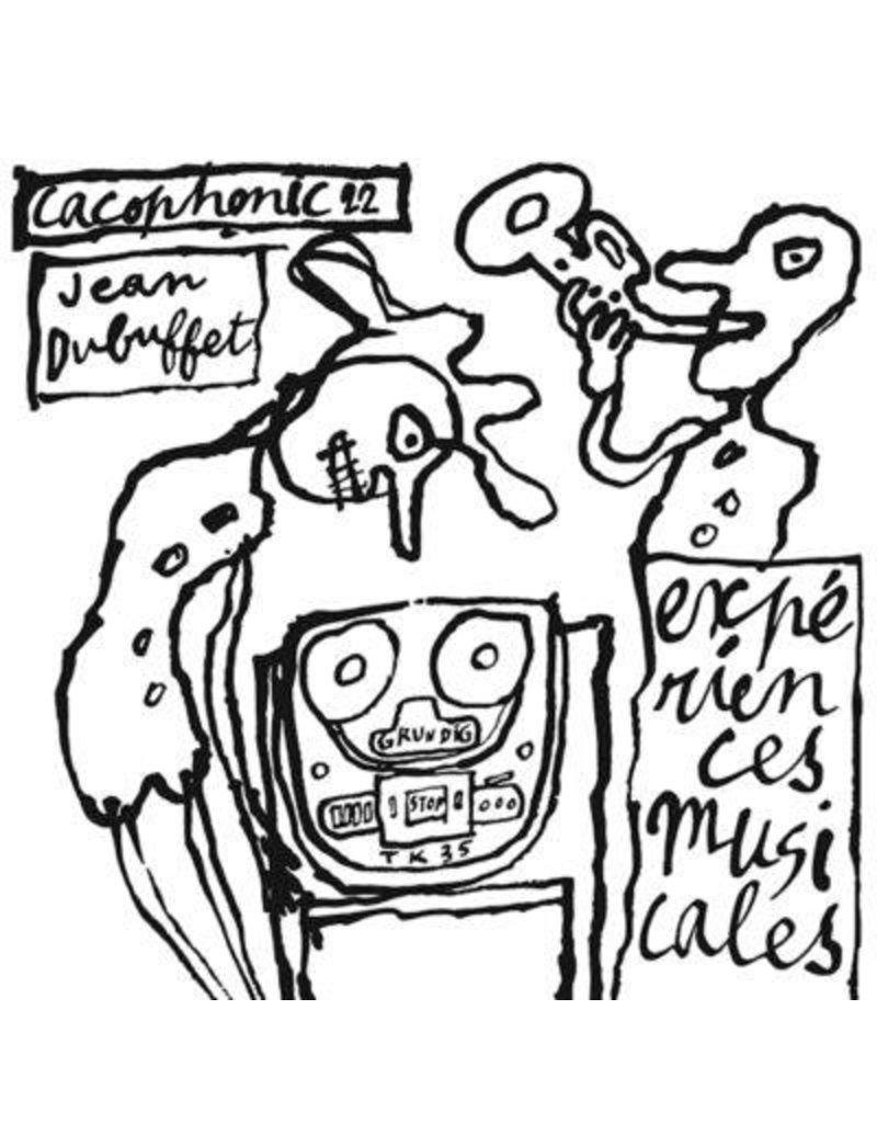 Cacophonic Dubuffet, Jean: Experiences Musicales de Jean Dubuffet LP