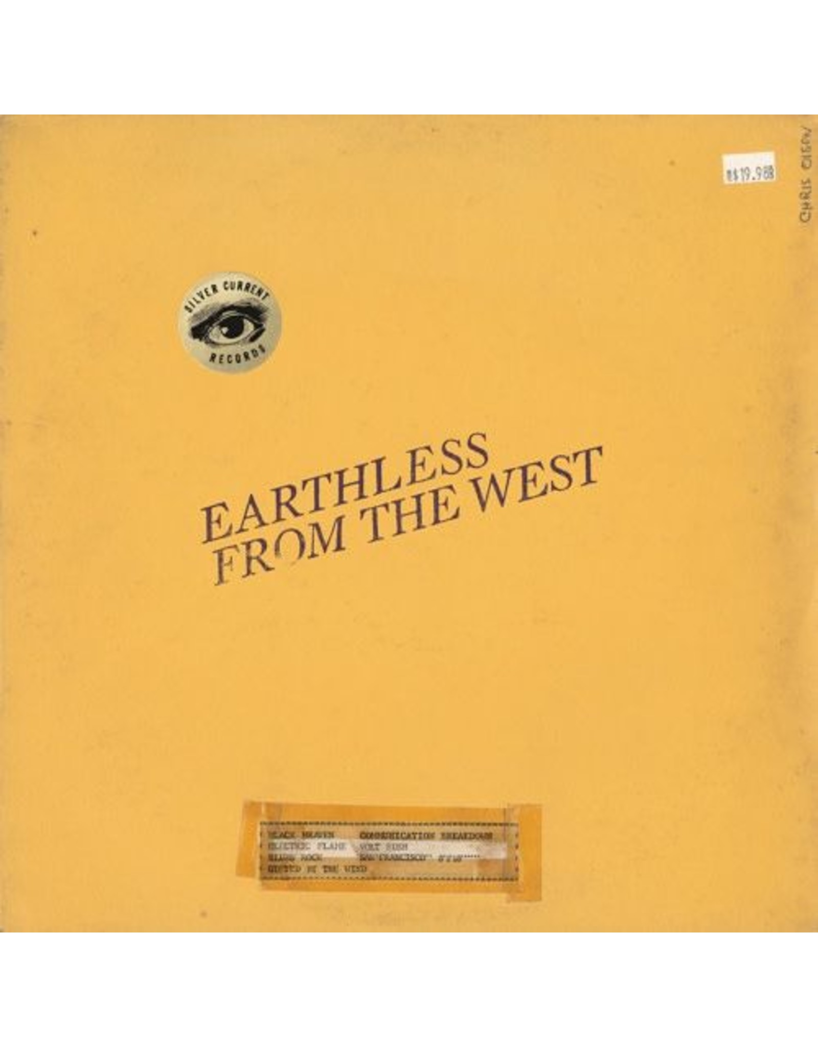 Silver Current Earthless: From The West LP