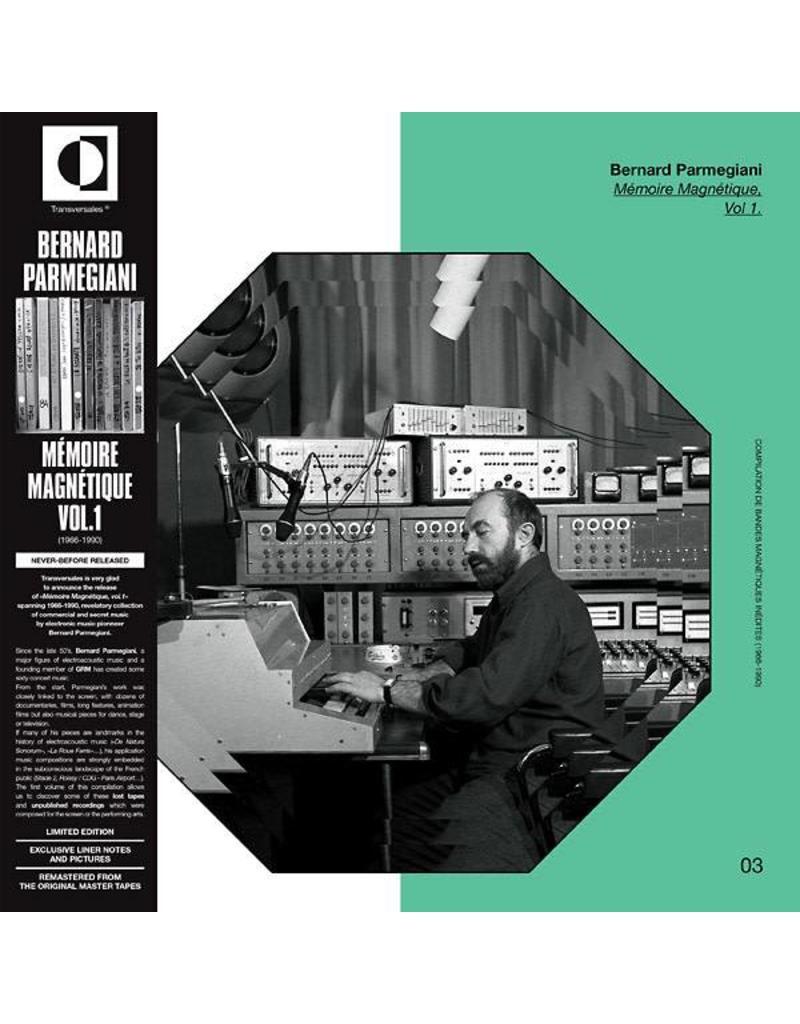 Transversales Disques Parmegiani, Bernard: Memoire Magnetique V1 LP