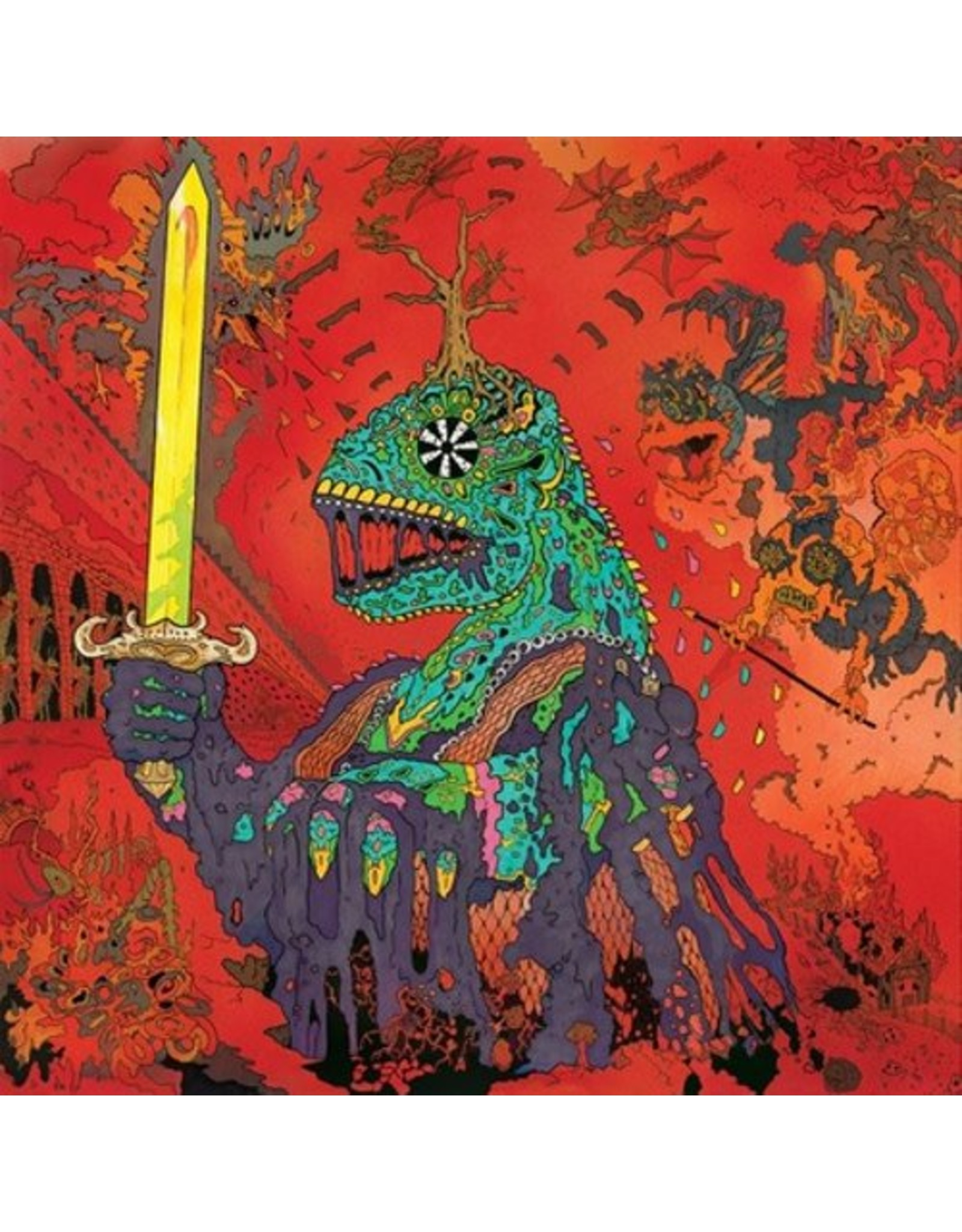 ATO King Gizzard & The Lizard Wizard: 12 Bar Bruise (Doublemint Green Colored Vinyl) LP