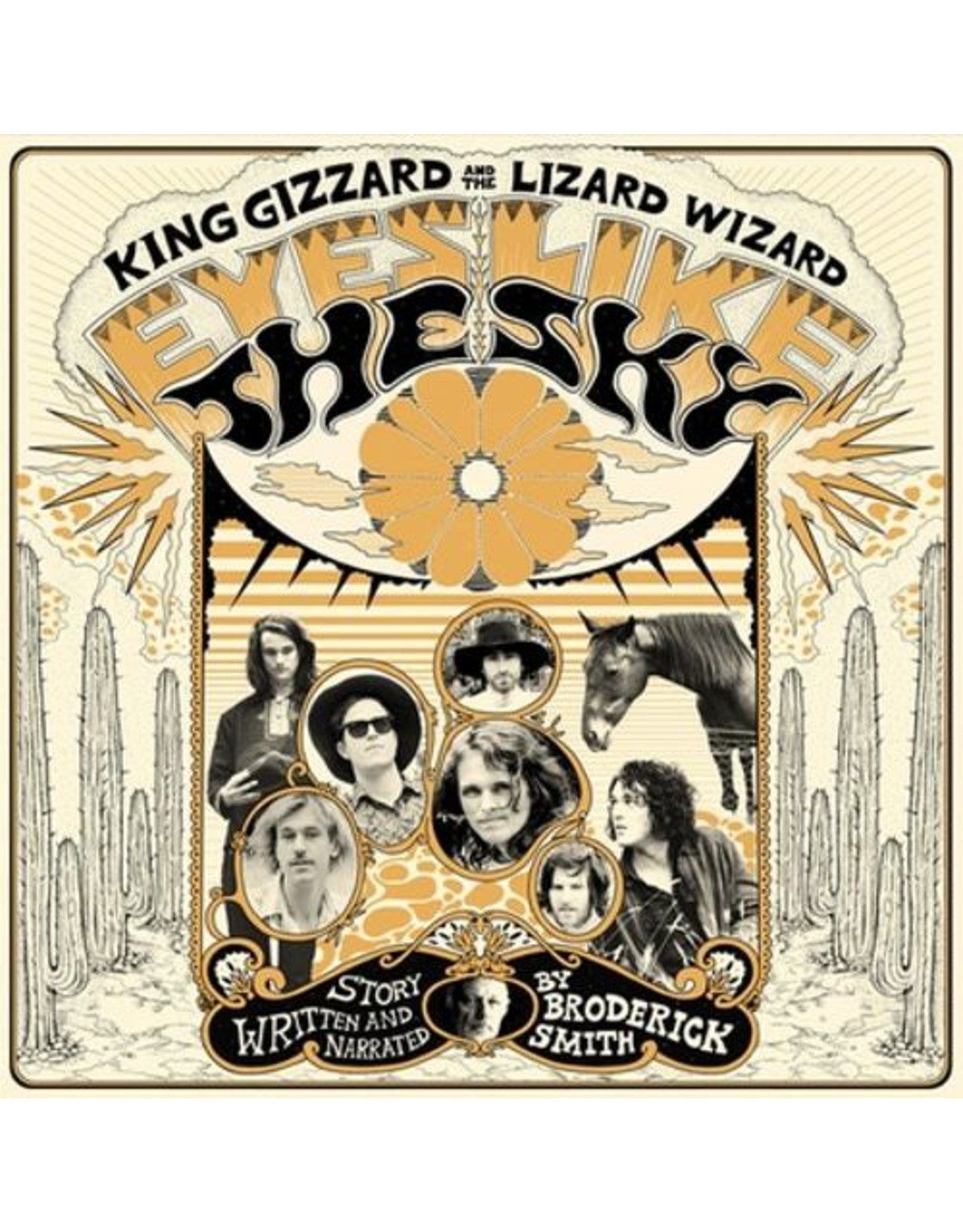 ATO King Gizzard & The Lizard Wizard: Eyes Like The Sky LP