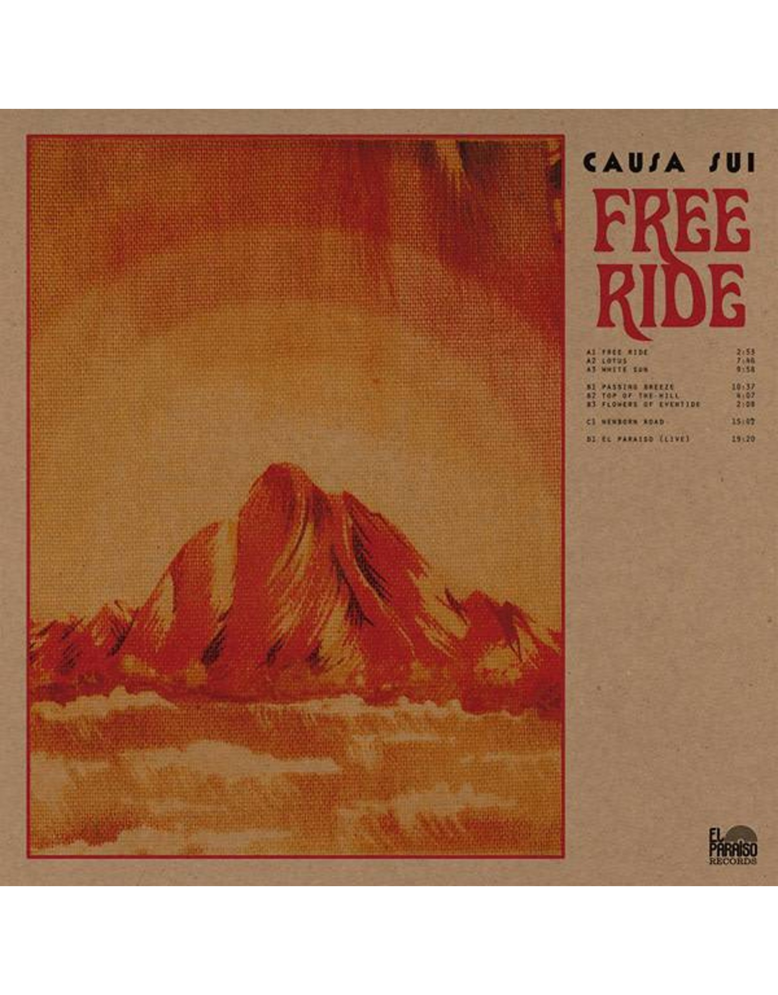 El Paraiso Causa Sui: Free Ride 2LP