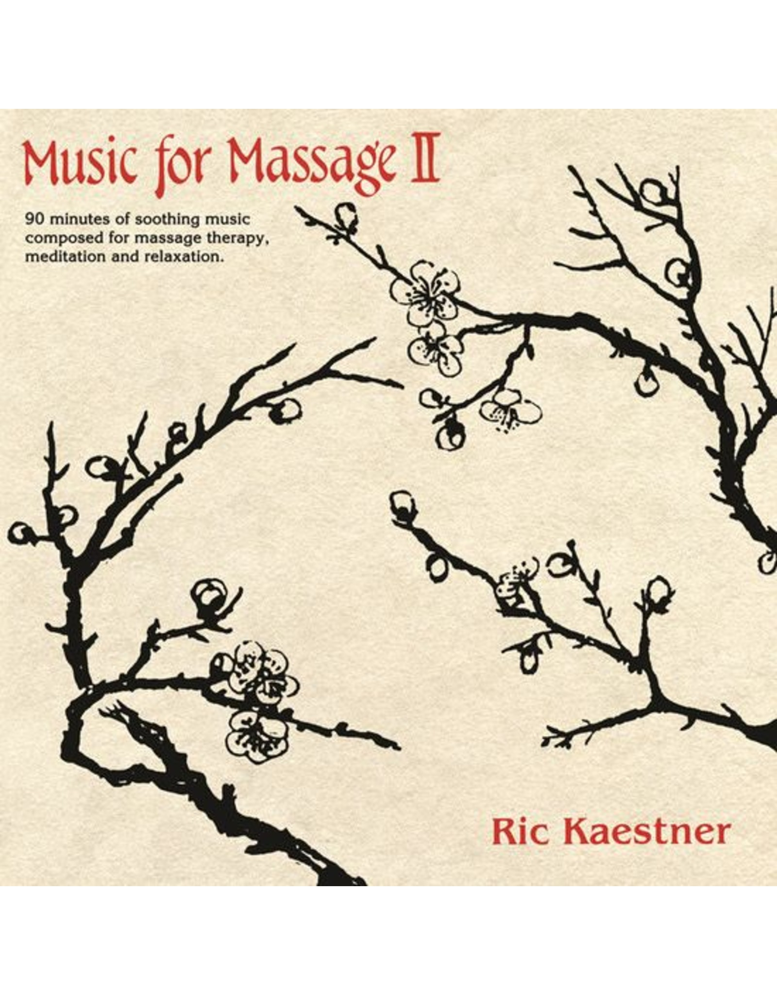 Sifted Sand Kaestner, Ric: Music For Massage II LP
