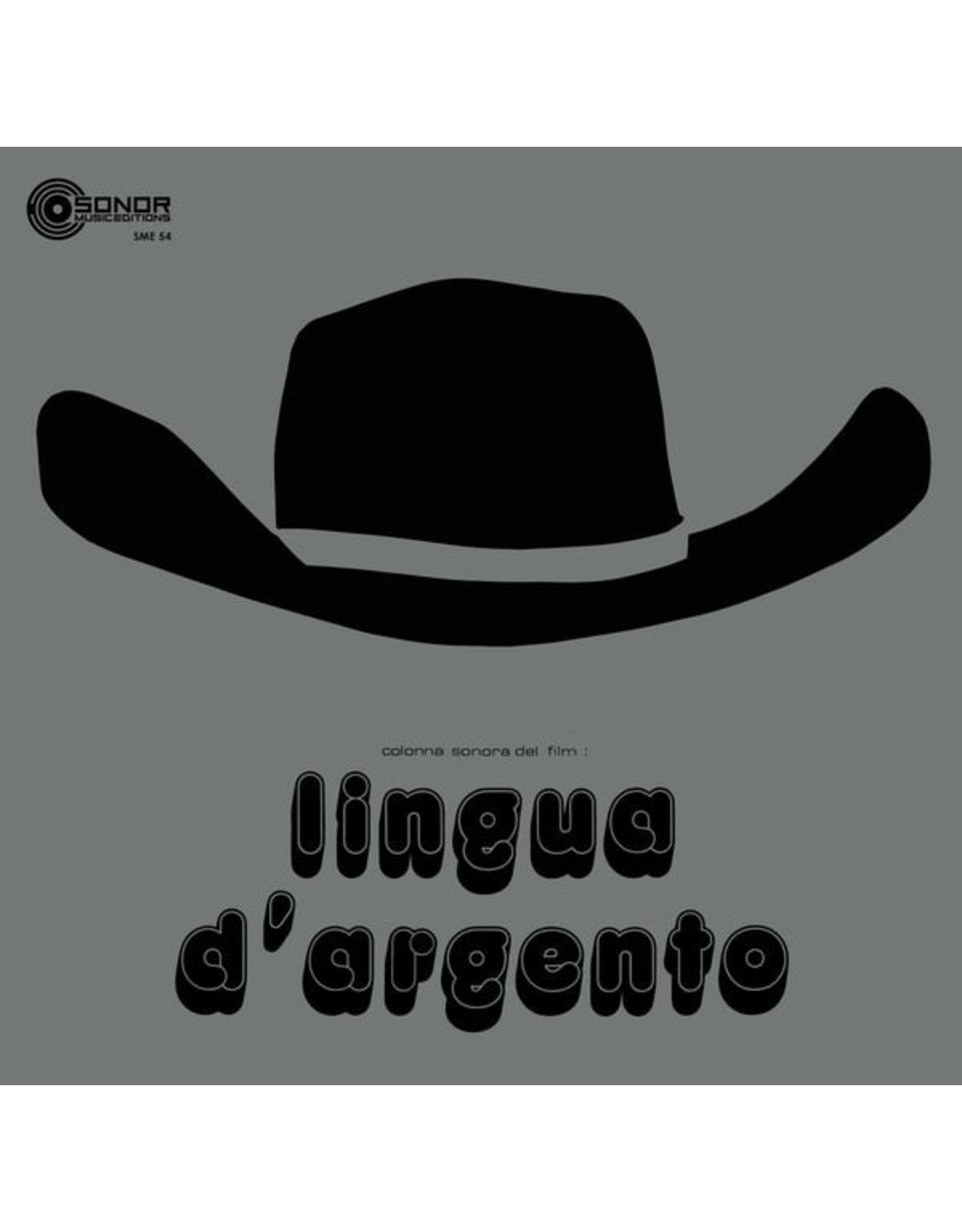 Sonor Music Editions Bembo, Alberto: Lingua OST LP