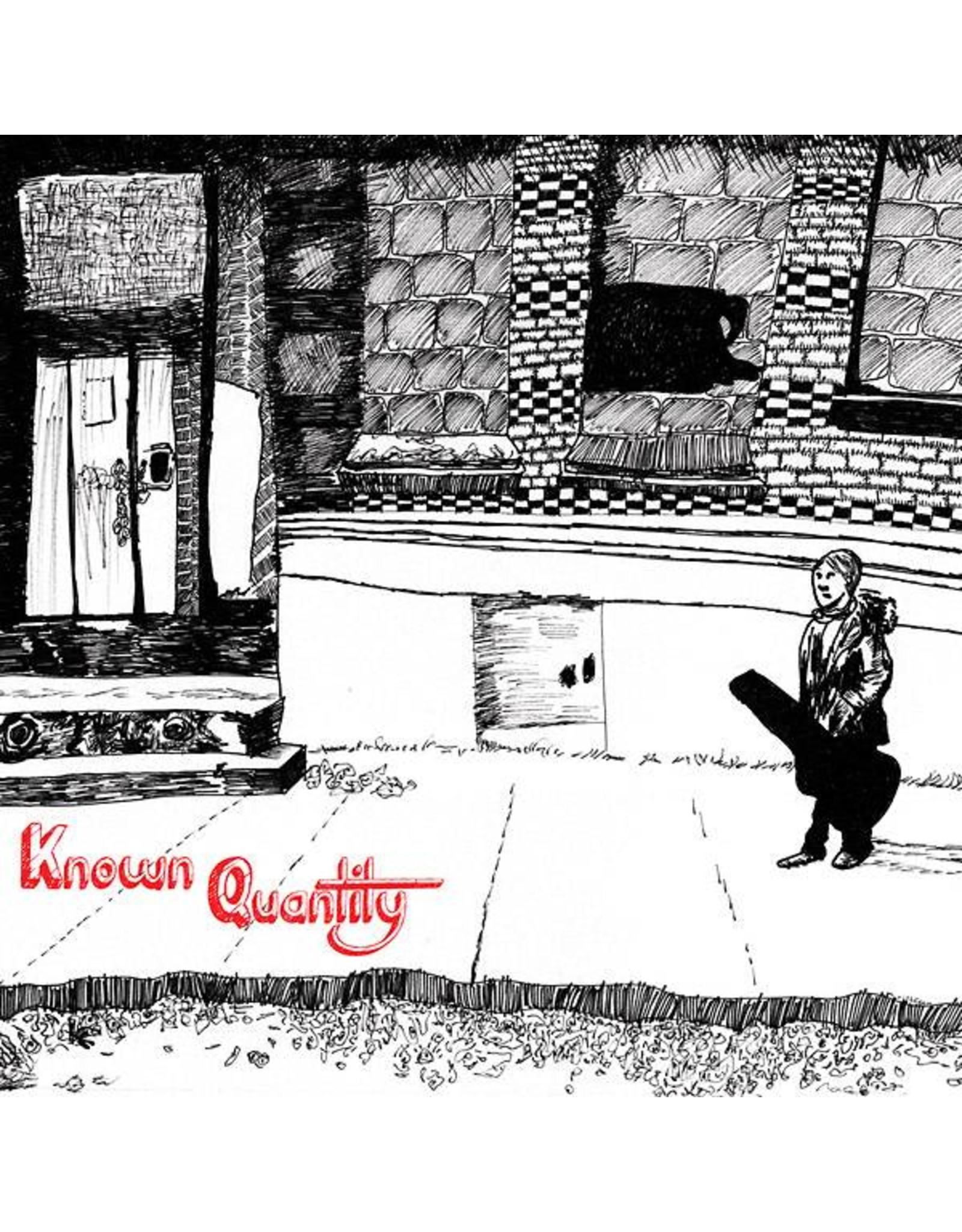 Feeding Tube Lane, Willie: Known Quantity LP