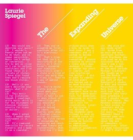 Spiegel, Laurie: The Expanding Universe LP