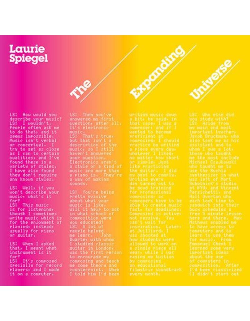 Spiegel, Laurie: The Expanding Universe LP