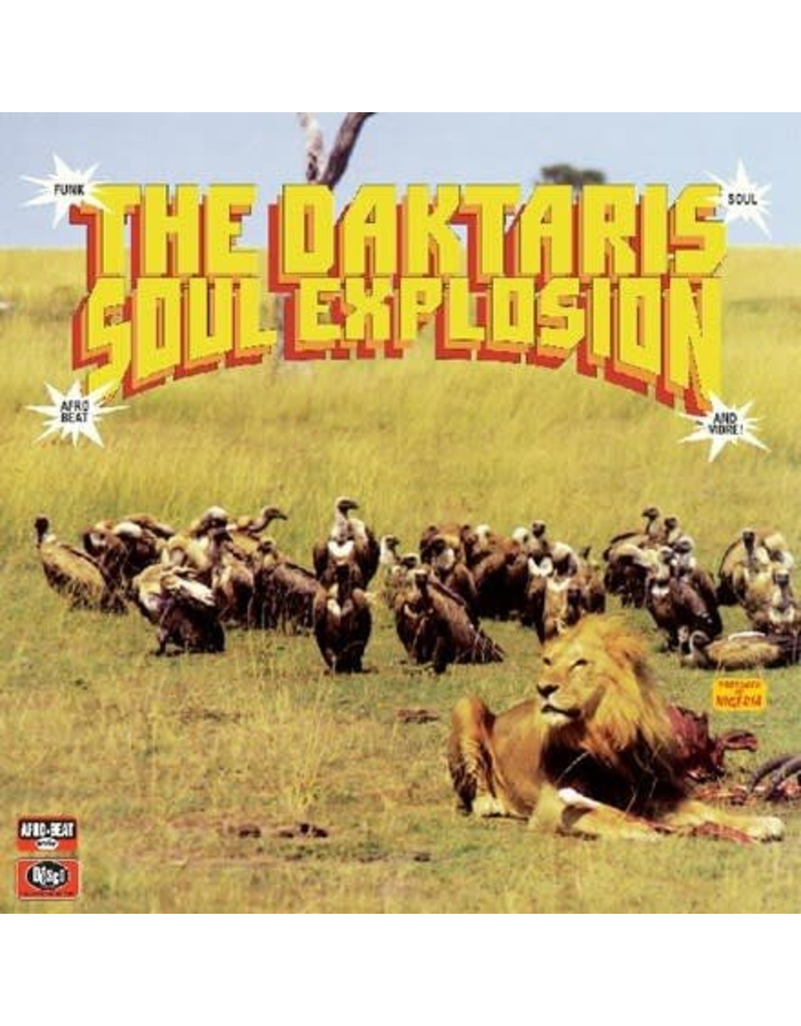 Daktaris: Soul Explosion LP