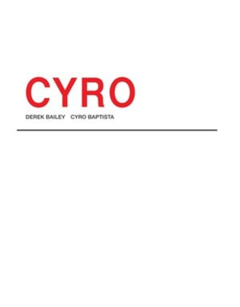 Honest Jon's Bailey/Baptista: Cyro 2LP