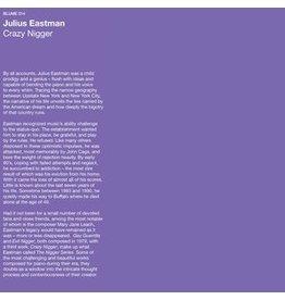 Blume Eastman, Julius: Crazy Nigger LP