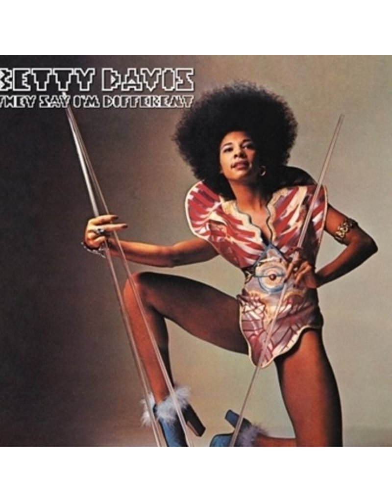 Light in the Attic Davis, Betty: They Say I'm Different LP