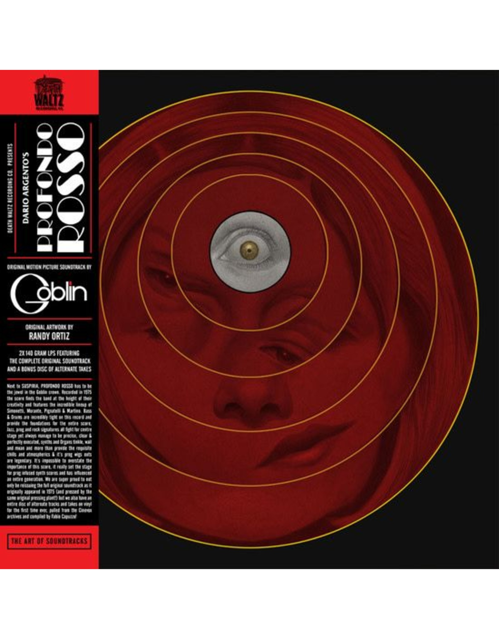 Death Waltz Goblin: Profondo Rosso LP