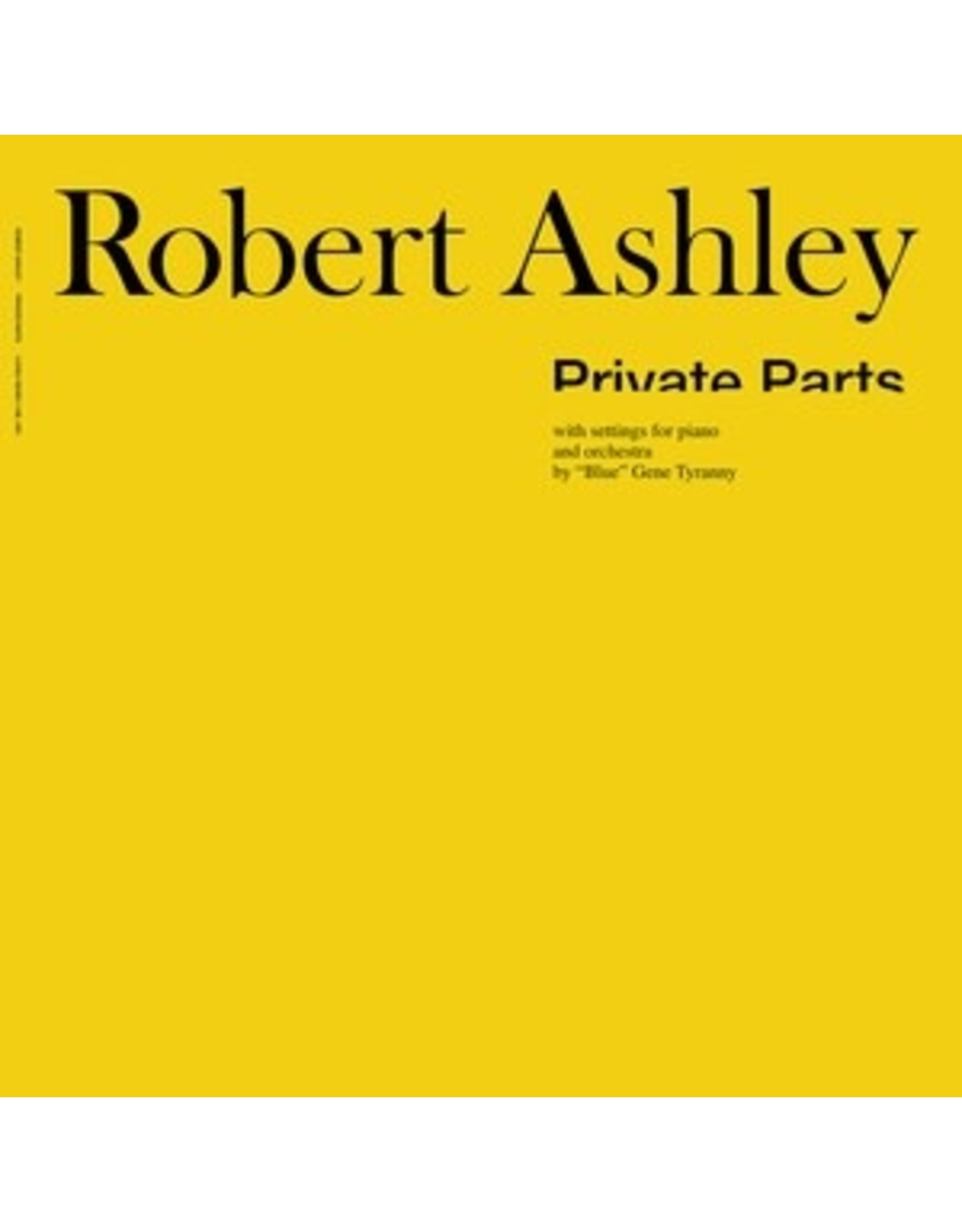 Lovely Ashley, Robert: Private Parts LP