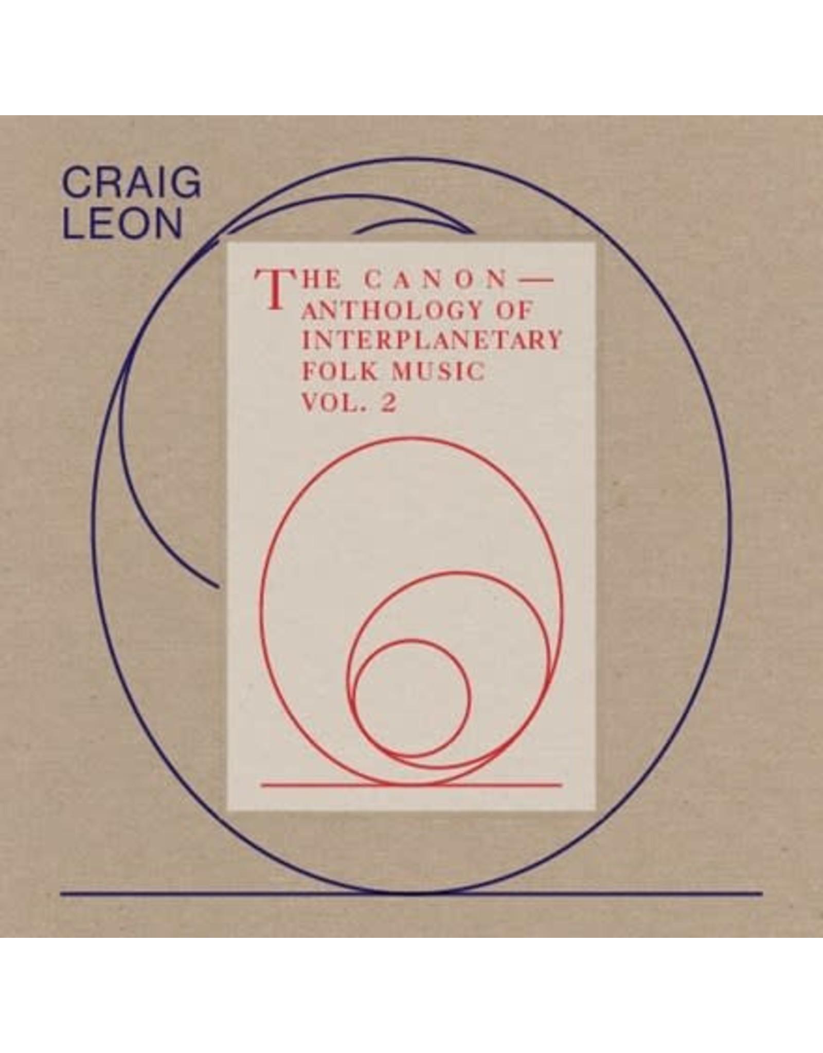 RVNG Intl. Leon, Craig: Anthology of Interplanetary Folk Music Vol. 2: The Canon LP