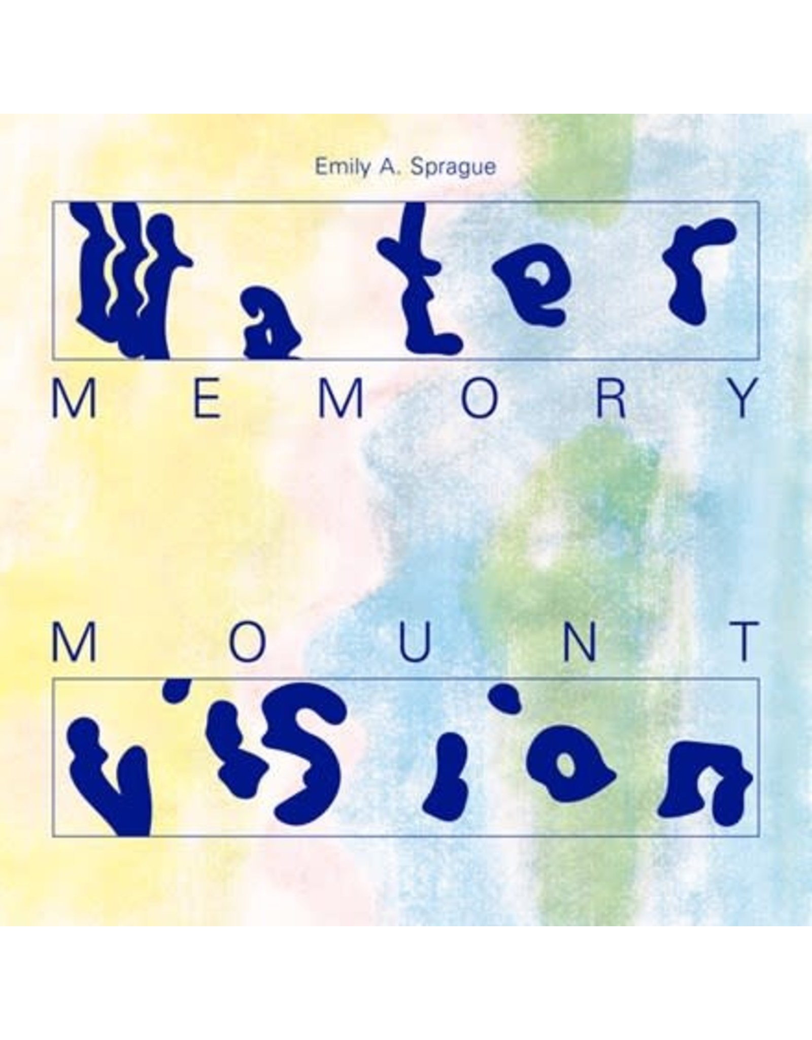 RVNG Intl. Sprague, Emily A.: Water Memory/Mount Vision LP