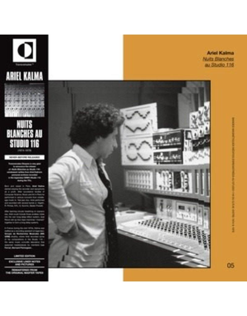 Transversales Disques Kalma, Ariel: Nuits Blanches au Studio 116 LP