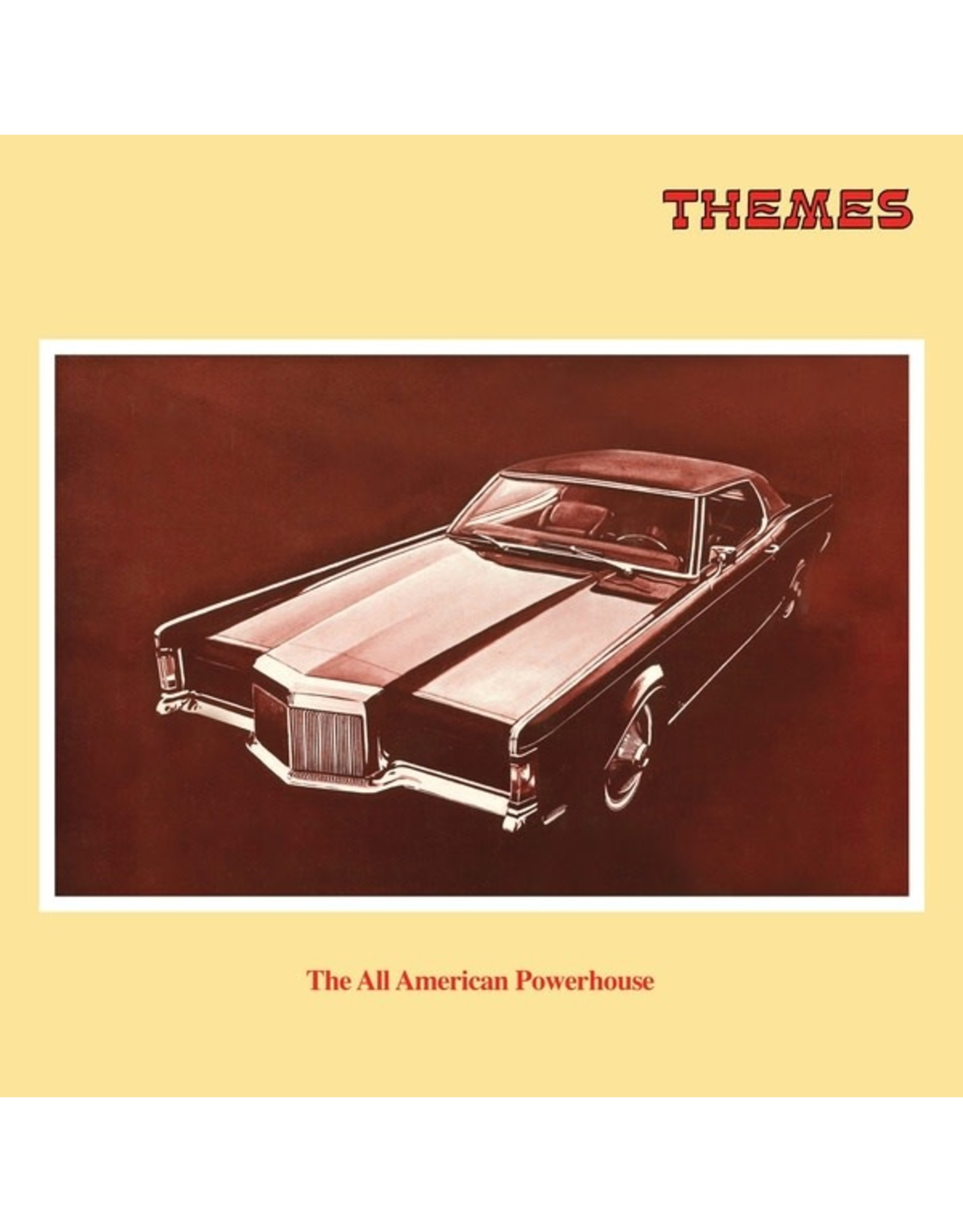 Be With Various: All American Powerhouse LP