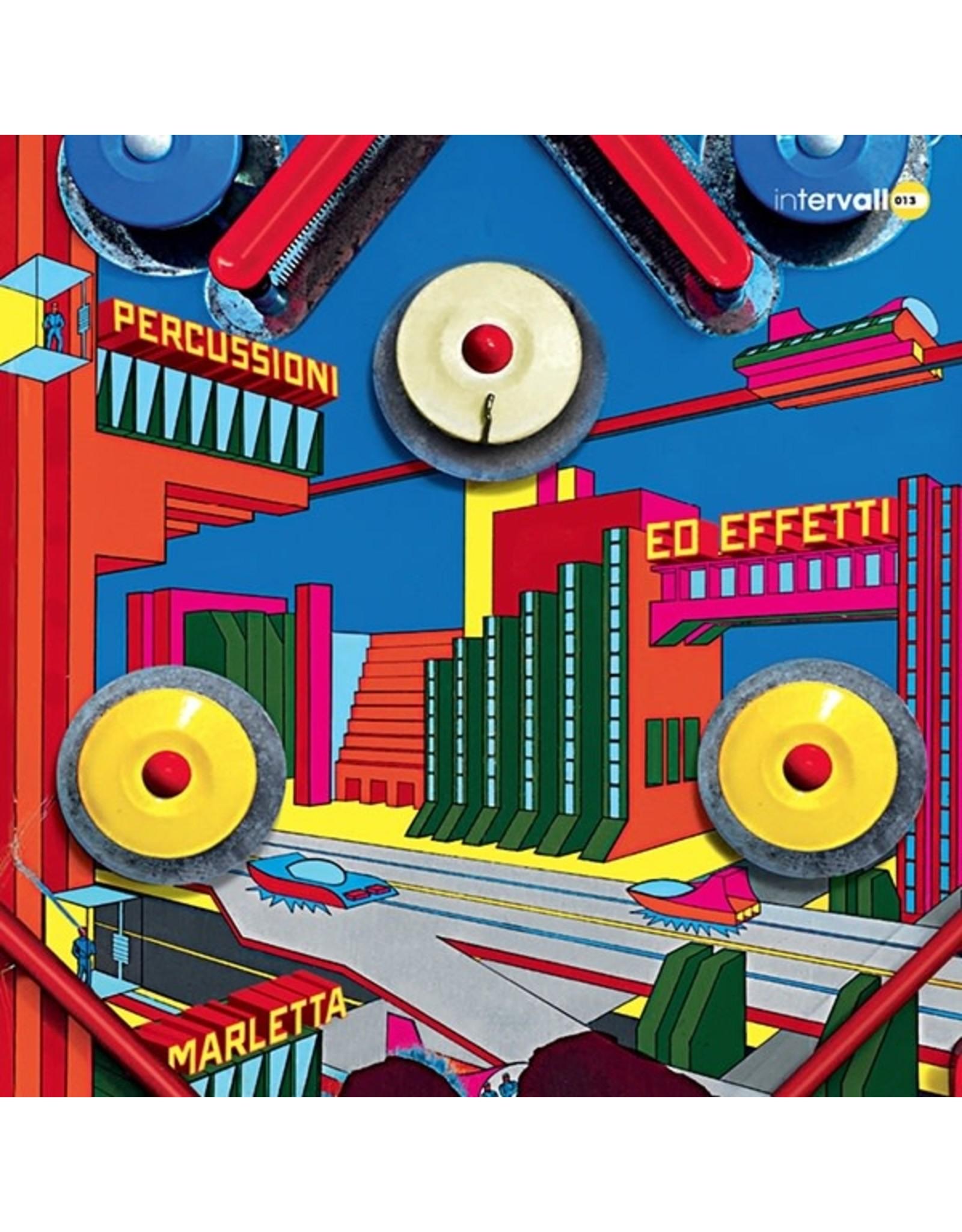 Intervallo Marletta, Leonardo: Percussioni ed Effetti LP
