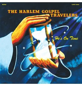 Colemine Harlem Gospel Travelers: He's On Time (clear vinyl) LP