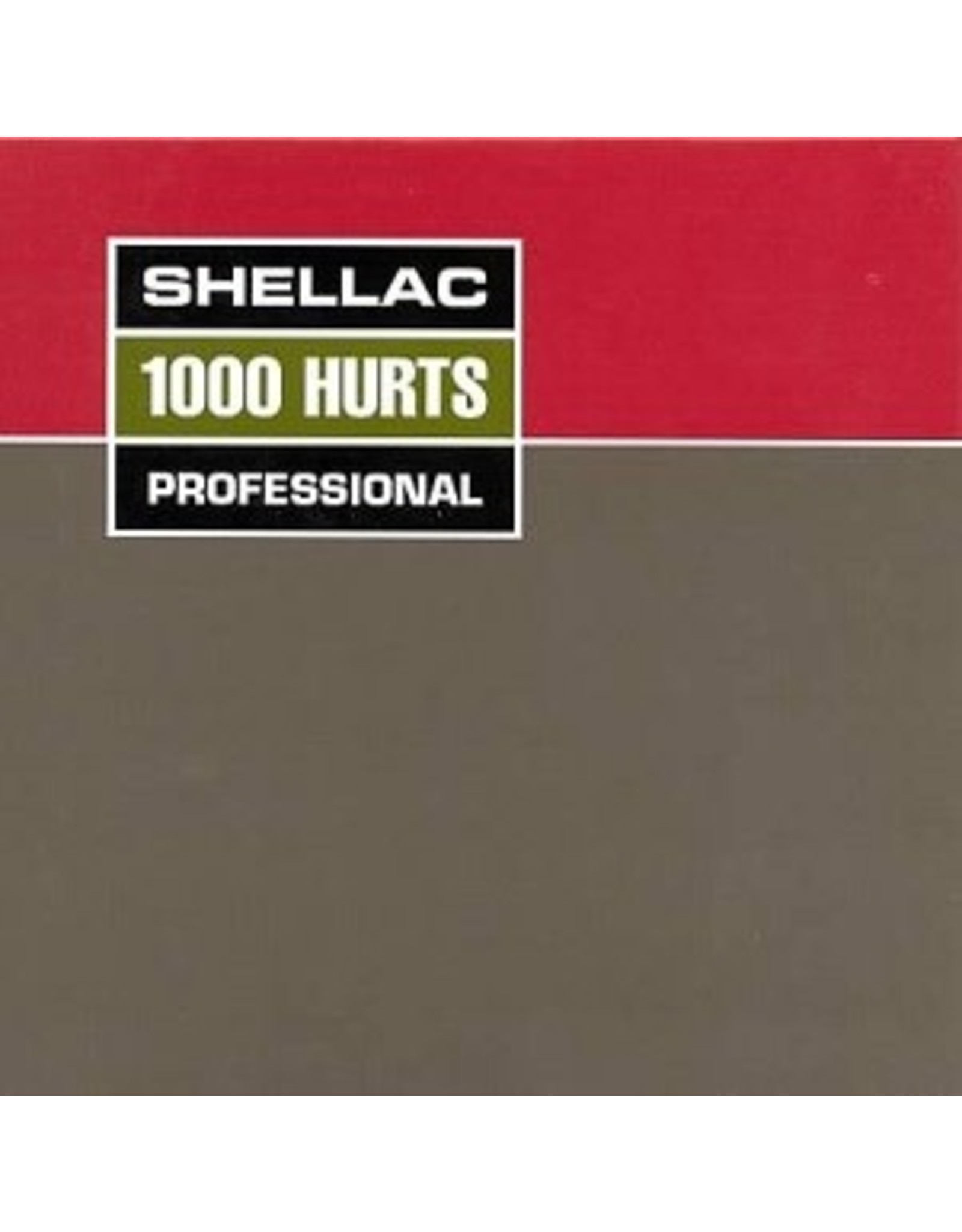 Touch & Go Shellac: 1000 Hurts LP