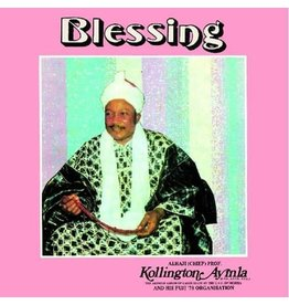 Soul Jazz Ayinla, Kollington & His Fuji '78 Organisation: Blessing LP
