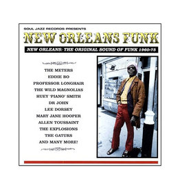 Soul Jazz Various: New Orleans Funk - Original Sound of Funk 1960-75 LP