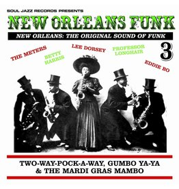 Soul Jazz Various: New Orleans Funk Vol. 3: Two-Way-Pocky-Way, Gumbo Ya Ya and the Mardi Gras Mambo LP