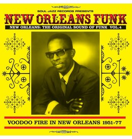 Soul Jazz Various: New Orleans Funk Vol. 4 Voodoo Fire In New Orleans 1951-77 LP