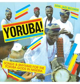 Various: Yoruba! Songs and Rhythms for the Yoruba Gods in Nigeria LP