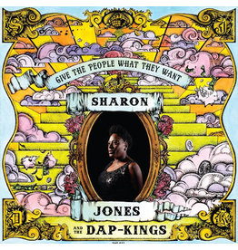 Daptone Jones, Sharon: Give the People What They Want LP