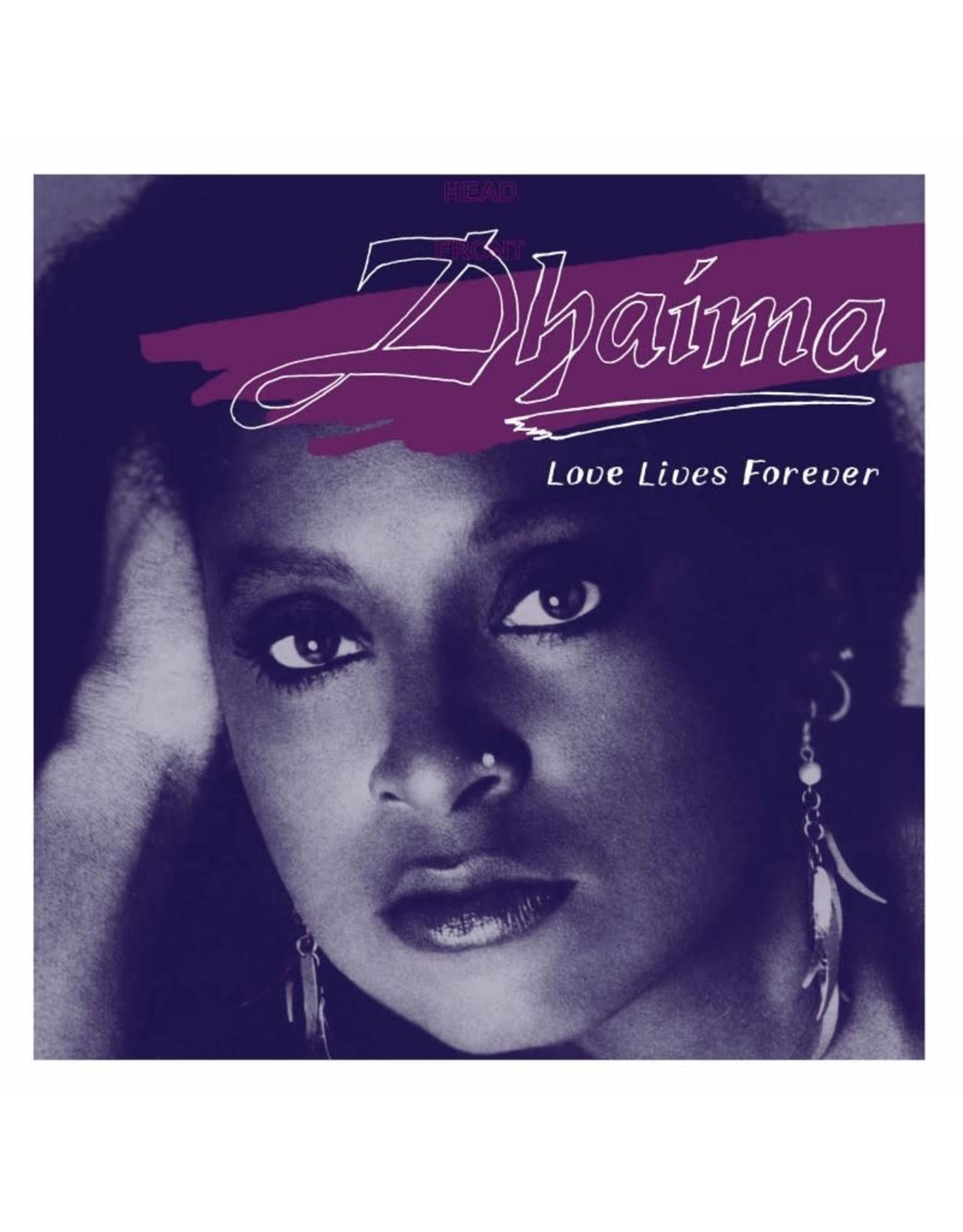 Numero Dhaima: Love Lives Forever (transparent purple vinyl) LP