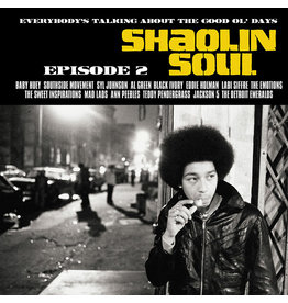 Because Various: Shaolin Soul E2 2LP+CD