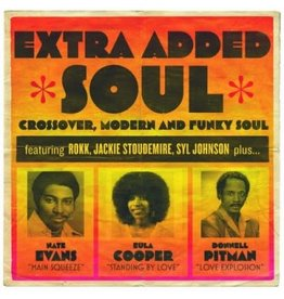 J&D Productions Various: Extra Added Soul LP
