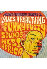 Stones Throw Various: World Psychedelic Classics 3: Love's a Real Thing - The Funky Fuzzy Sounds of West Africa LP