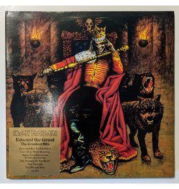 USED: Iron Maiden: Edward the Great LP